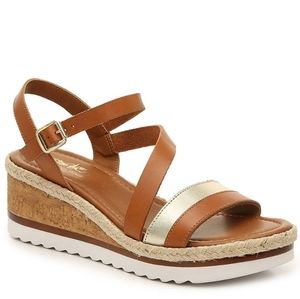 NEW* Coach and Four wedge sandals